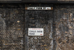Chalk Farm Road in London Stock Photography