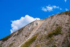 Chalk hills in Ukraine Royalty Free Stock Photography