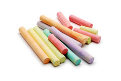 Chalk isolated Stock Photos