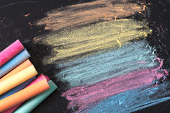 Chalk isolated Royalty Free Stock Photo