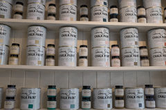 Chalk Paint Stock Photography
