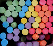 Chalk. Pastel colored chalk sticks in box Royalty Free Stock Photography