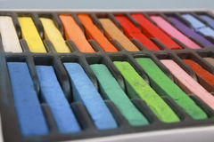 Chalk pastels Stock Photography