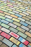 Chalk on Paving Royalty Free Stock Image