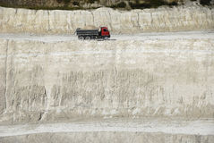 Chalk pit Stock Images