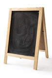Chalk rubbed out on blackboard isolated Royalty Free Stock Photo