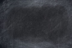 Chalk rubbed out on board Stock Image