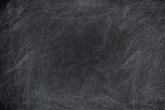 Chalk rubbed out on board royalty free stock photography
