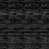 Chalk seamless pattern of horizontal thin brush strokes. Royalty Free Stock Images