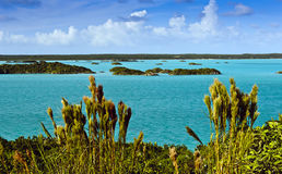 Chalk Sound,  Turks & Caicos Islands Royalty Free Stock Images