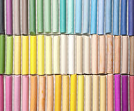 Chalk sticks. Royalty Free Stock Photography