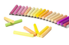 Chalk sticks. Stock Photography