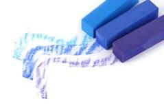 Chalk sticks stock image