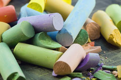 Chalk Sticks Royalty Free Stock Images
