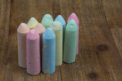 Chalk Sticks Stock Image