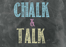Chalk And Talk Royalty Free Stock Photos