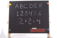 Chalkboard. A childrens chalkboard Stock Photography
