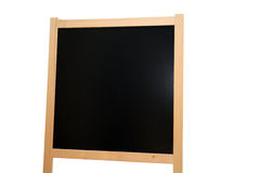 Chalkboard. A board isolated and a white background Royalty Free Stock Images