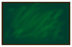 Chalkboard. This is a green illustration chalkboard Stock Photos