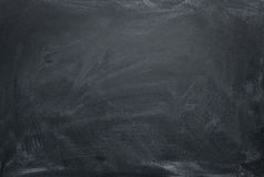 Chalkboard. Blank chalkboard, blackboard texture with copy space Royalty Free Stock Images
