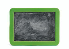 Chalkboard. Children's blank chalkboard with green frame Royalty Free Stock Photography
