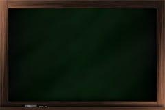 Chalkboard. A blank classroom chalkboard / blackboard Royalty Free Stock Photo