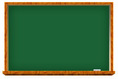 Chalkboard. Go to the chalboard and write Stock Image