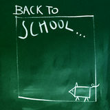 Chalkboard background Stock Photos