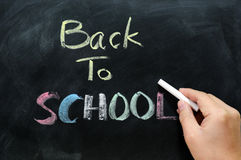 Chalkboard background Stock Images