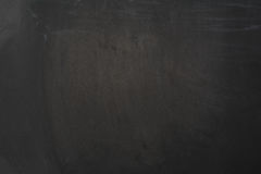 Chalkboard background. Black blackboard frame with copy space Stock Photography
