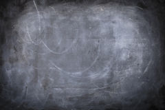 Chalkboard background. A black and white background of a chalkboard with texture Royalty Free Stock Photo