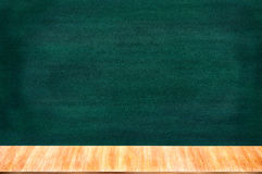 Chalkboard blackboard with chalk holder. Royalty Free Stock Images