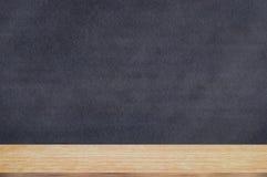 Chalkboard blackboard with chalk holder. Royalty Free Stock Image