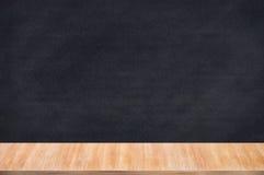 Chalkboard blackboard with chalk holder. Stock Photos