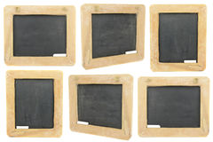 Blackboard and Chalk Stock Photo
