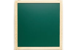 Chalkboard blackboard with frame isolated Stock Images