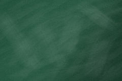 Chalkboard. Blackboard. Green chalk board texture empty blank with chalk traces Stock Images