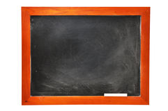 Chalkboard with Chalk (with clipping path) Stock Photos