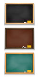 Chalkboard collection Royalty Free Stock Images