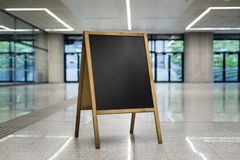 chalkboard on corporate background turned right horizontally royalty free stock images