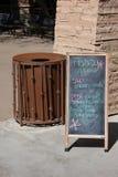 Chalkboard dodatki specjalni Fotografia Stock