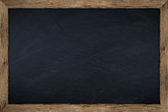 Chalkboard. Empty chalkboard with wooden frame Stock Images