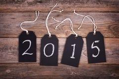 2015 chalkboard etykietki Zdjęcie Royalty Free