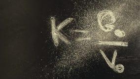 Chalkboard formula dust powder nobody hd footage. Studio stock footage