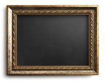 Chalkboard framed in vintage frame Stock Image