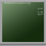 Chalkboard Graphic Royalty Free Stock Image
