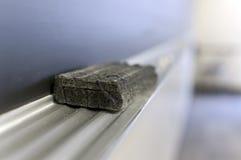 chalkboard gumka zdjęcie stock