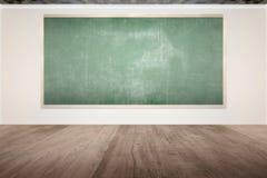 Chalkboard Inside The Classroom Royalty Free Stock Photo