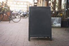 Chalkboard menu obrazy stock