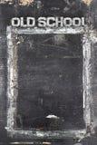 Chalkboard old school Stock Images